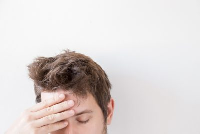 Man suffering from daily TBI
